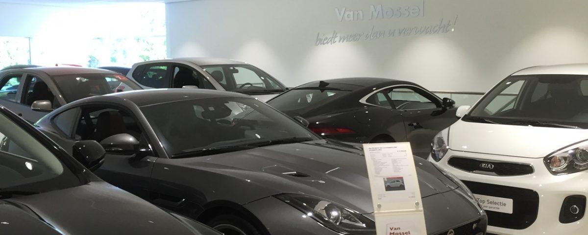Jaguar dealer van Mossel